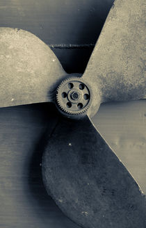 Propeller of a ship by Lars Hallstrom