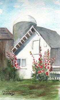 Amish Barn von Sandra Woods