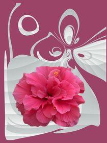 Pink Blüte von netteart