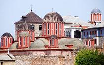 Kloster Xenophontos auf dem Berg Athos in Griechenland by Jürgen Effner
