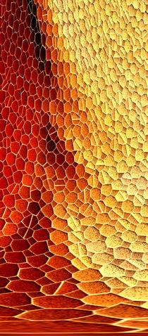 Mosaikwandbild Dreier Serie (links) von hannahhanszen