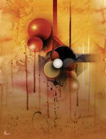 'Abstract circles' von Maciej  Zumirski
