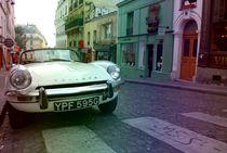Auto auf parieser Straße by Josephine Brücher