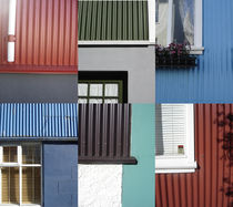 the colors of Reykjavik  by Milena Zindovic
