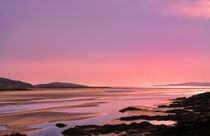Pink Hebridean Sunset by Jacqi Elmslie