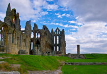 Whitby Abbey Ruins von tkphotography