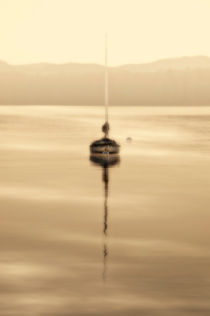 dreamy misty windermere morning by meirion matthias