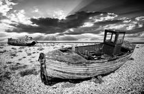abandoned trawlers at dungeness by meirion matthias