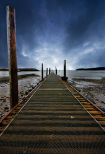 the jetty at rhos-on-sea von meirion matthias