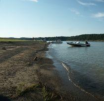 Green River Lake Shoreline. von Sandra Woods