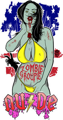 Zombie Groupie V2 by Neil Hyde
