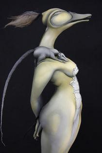 Love II - Antique by Olga Roehl