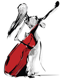 Canvas-violin