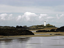 Godrevy After a Summer Shower by Roger Butler