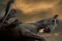 Statue of Wenceslas, Wenceslas Square, Prague by serenityphotography