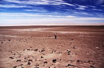 A Man in the Atacama Desert by janab