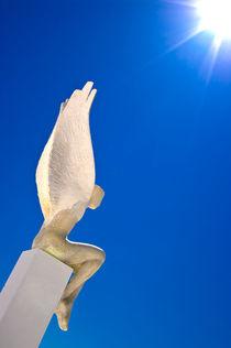 Santorini Angel by meirion matthias