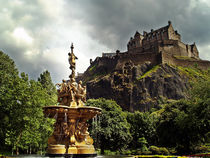 The Ross Fountain, Edinburgh by Amanda Finan