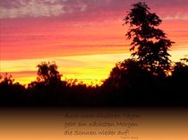 Sonnenaufgang von Tina M. Emig