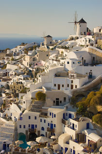 greek island village of Oia by meirion matthias