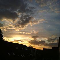 Abendlicher Himmel I von Ursula Wolfangel-Hoppmann
