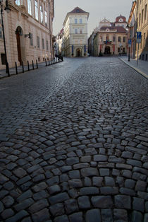 Cobbled Street, Prague by serenityphotography