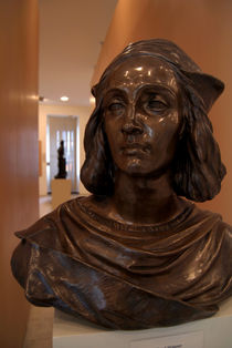 Bust in Convent of St George Gallery von serenityphotography