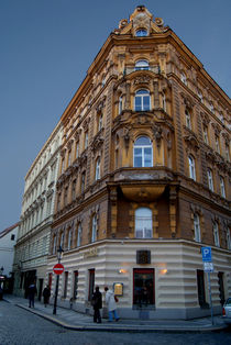 Corner Building, Prague by serenityphotography