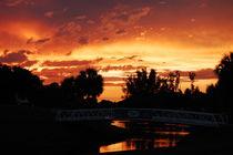 Summer Sunset - Sommer Sonnenuntergang by Doug Graham