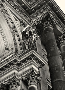 Berliner Dom Angel by Mary Rath