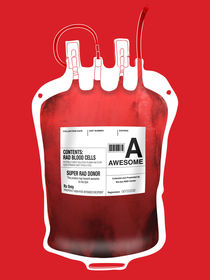Blood Type - Awesome by Marco Angeles
