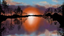 Sunset Silhouette von Rozalia Toth