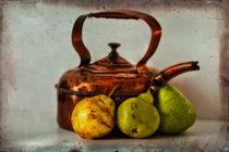 Copper Kettle With Pears von inkedsandra