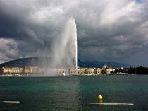 Genfer See, Genf, Schweiz von Veit Schuetz