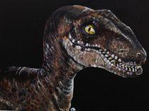 Velociraptor (Clever Girl) by Kristin Frenzel