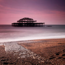 Old Brighton Pier by Nina Papiorek