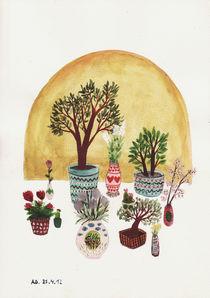 Potted Flowers 2 von Angela Dalinger