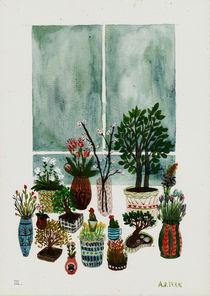 Potted Flowers 4 von Angela Dalinger
