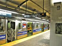 New York Subway von Tom Pizzey