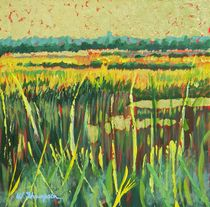 Golden Leaf Marsh by Warren Thompson