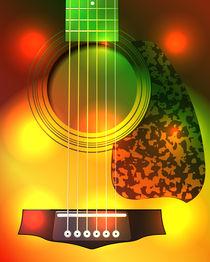 guitar closeup von Miro Kovacevic