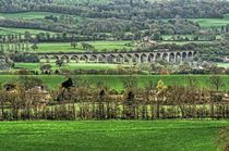 Arthington Viaduct. von Colin Metcalf