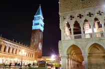San Marco square at night, Venice, Italy by Tanja Krstevska