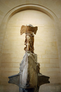 Nike Victory of Samothrace, Louvre, Paris by Tanja Krstevska