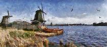 De Zaan digital paint 1 by Wessel Woortman