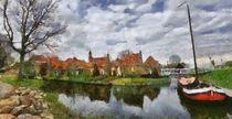 Enkhuizen digital paint 3 by Wessel Woortman