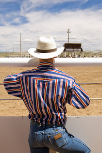 Watching The 4th of July Rodeo 1 von Tom Hanslien