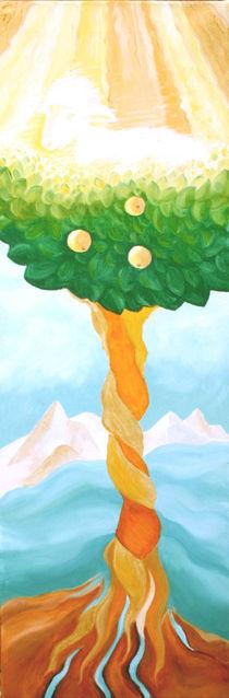 THE LAMB AND THE TREE OF LIFE / DAS LAMM UND DER BAUM DES LEBENS B by Sandra Yegiazaryan