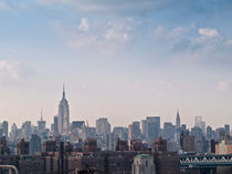 Manhattan Skyline New York City von Helga Sevecke