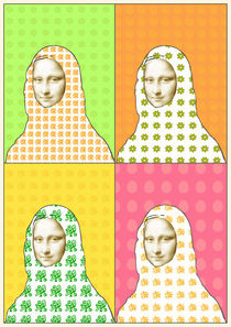 Pop Mona Lisa by Ipso Imago